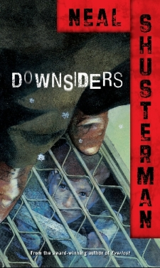 Image result for downsiders by neal shusterman
