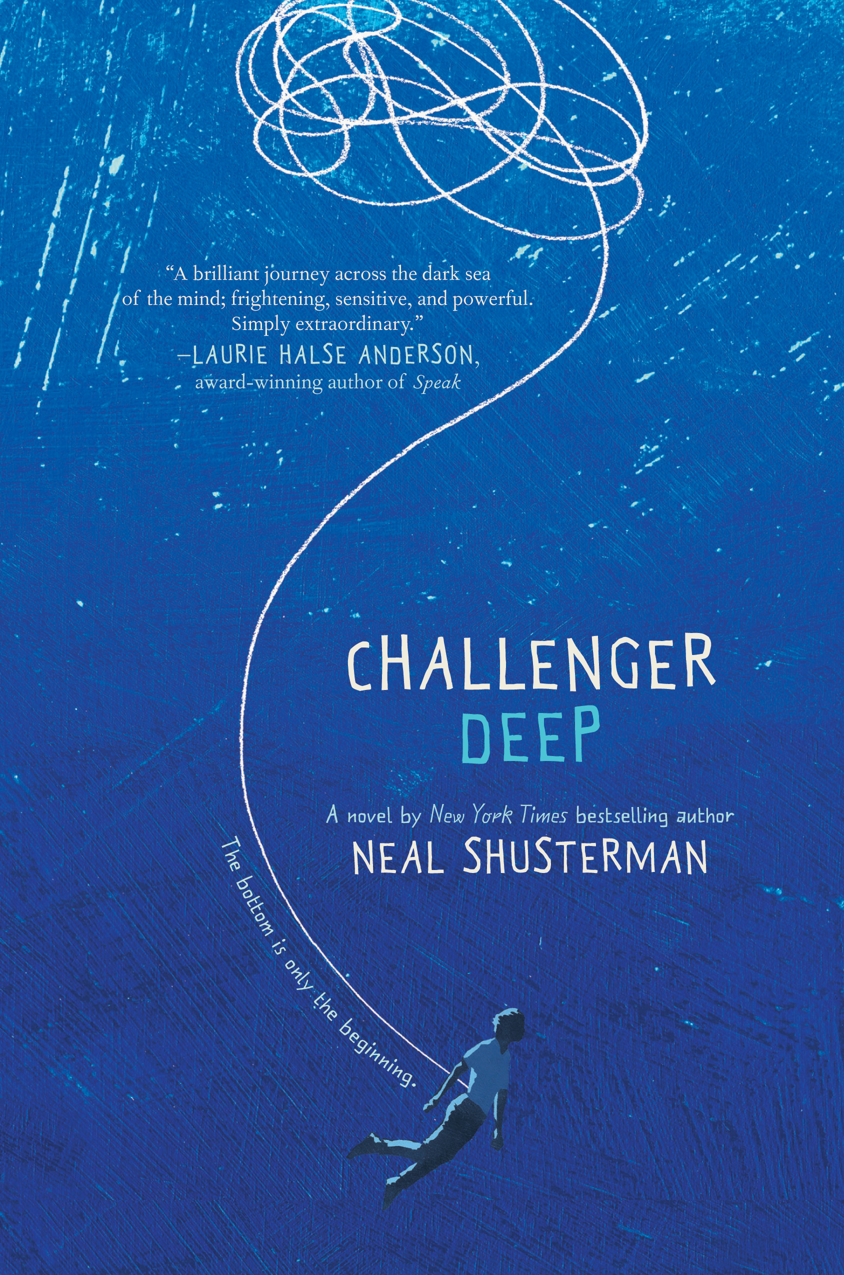 Challenger Deep by Neal Shusterman -  The 29 Best YA Book Covers of 2015 as Chosen by Epic Reads Designers