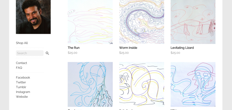 Buy CHALLENGER DEEP Art and Support the National Alliance on Mental Illness