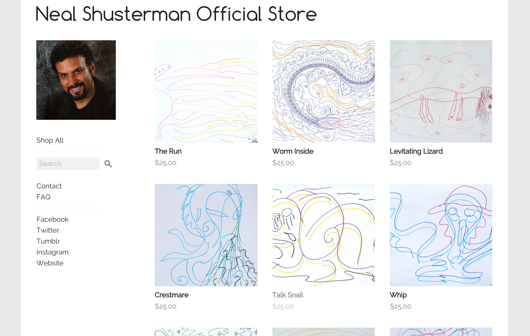 Shustermania Store Screenshot